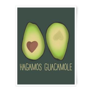 Hagamos Guacamole Art Print