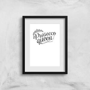 Prosecco Queen Art Print