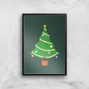 Buttons Tree Art Print