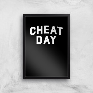 Cheat Day Art Print