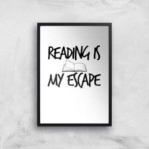 Reading Is My Escape Art Print