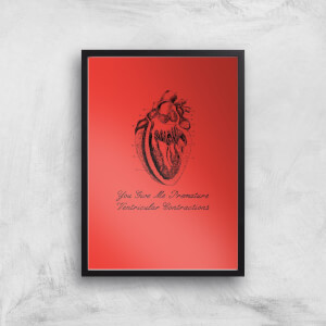 Premature Ventricular Contractions Art Print