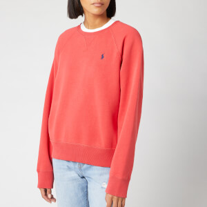 Polo Ralph Lauren Women's Raglan Sweatshirt - Spring Red