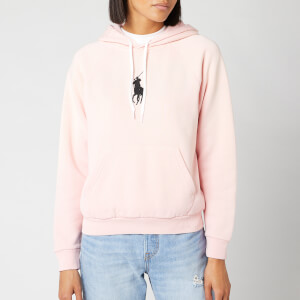 Polo Ralph Lauren Women's Classic Long Sleeve Hoodie - Pink Sand