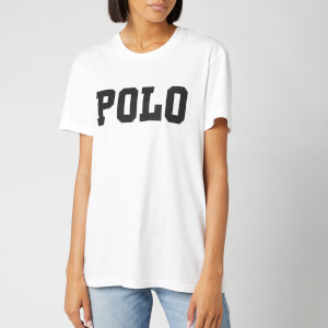 Polo Ralph Lauren Women's Big Polo Short Sleeve T-Shirt - White