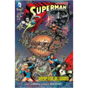 DC Comics: Superman - Krypton Returns Graphic Novel (Hardback)