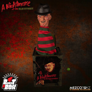 Mezco A Nightmare On Elm Street: Freddy Krueger Burst A Box