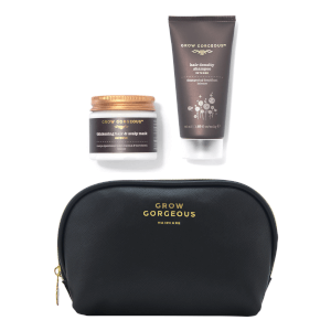 Grow Gorgeous Mini Intense Shampoo, Mask and Bag (Worth $37)