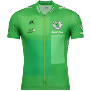 Le Coq Sportif TDF 2019 Replica Points Jersey - Green