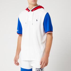 Polo Sport Ralph Lauren Men's Short Sleeved Hoody - White Multi