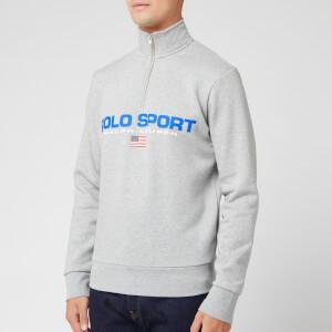Polo Sport Ralph Lauren Men's Quarter Zip Sweatshirt - Heather