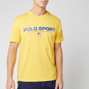 Polo Sport Ralph Lauren Men's T-Shirt - Chrome Yellow