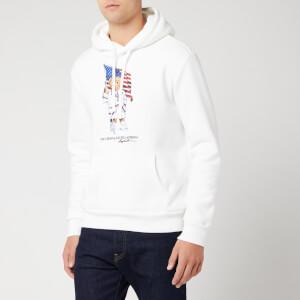 Polo Ralph Lauren Men's Bear Hoody - White