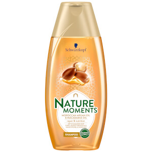 Schwarzkopf Nature Moments Moroccan Argan Oil and Macadamia Oil Shampoo