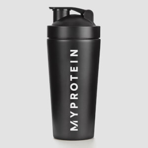 Myprotein Painted Metal Shaker - Black