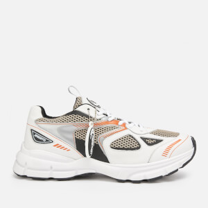 Axel Arigato Men's Marathon Running Style Trainers - White/Black/Orange