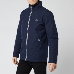 GANT Men's The Coastal Mid Length Jacket - Evening Blue