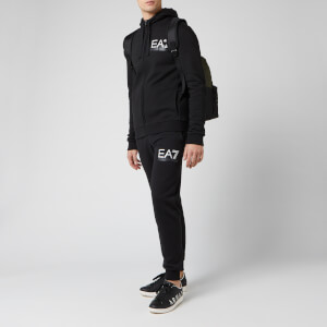 Emporio Armani EA7 Men's Hooded Tracksuit - Black