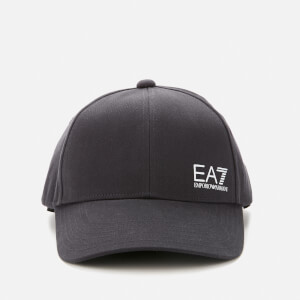 Emporio Armani EA7 Men's Small Logo Cap - Night Blue