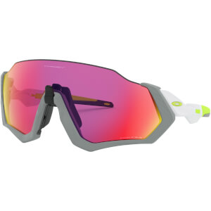 Oakley Flight Jacket Sunglasses - Matte Fog/Prizm Road