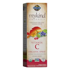 Mykind Organics Vitamin B-12 Spray - Raspberry - 58ml