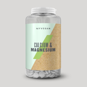Vegan Calcium and Magnesium Tablets