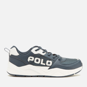 Polo Ralph Lauren Kids' Chaning Polo Low Top Trainers - Navy/White