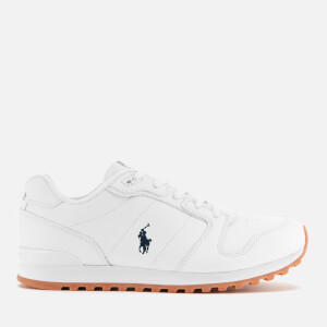 Polo Ralph Lauren Kids' Oryion Runner Style Trainers - White