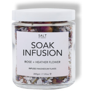 Salt by Hendrix Rose and Heather Flower Soak Infusion 280g