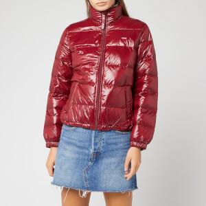 Levi's Women's Francine Down Packable Jacket - Warm Cabernet