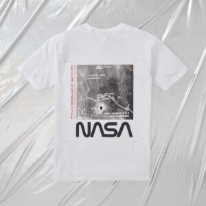 NASA Apollo 11 Landing Zone Unisex T-Shirt - Weiß