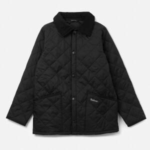 Barbour Boys' Liddesdale Quilted Jacket - Black