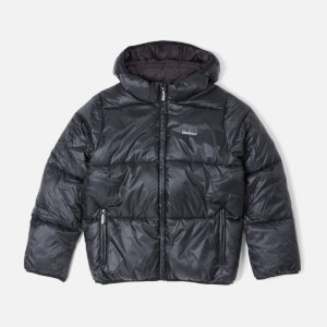 Barbour Boy's Ross Quilt Jacket - Black