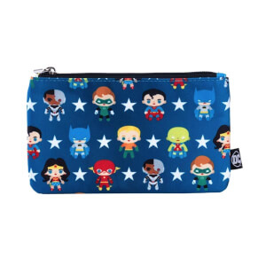 Loungefly DC Comics Justice League Chibi Characters Pouch