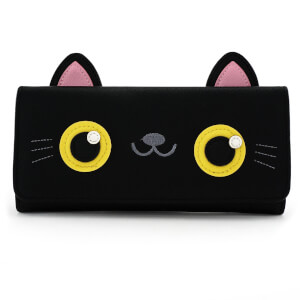 Loungefly Cat Face Trifold Wallet