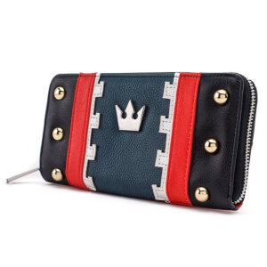 Disney Loungefly Kingdom Hearts 3 Sora Zip-Around Wallet