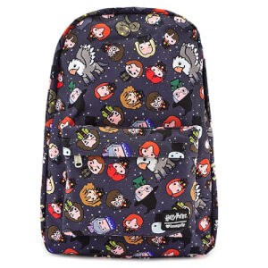 Loungefly Harry Potter Chibi Characters Nylon Backpack
