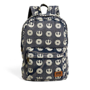 Loungefly Star Wars Mochila en Denim Símbolo Imperial