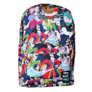 Disney Loungefly Peter Pan Mochila Nylon Estampada