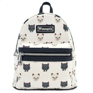 Loungefly Cat Print Mini Backpack