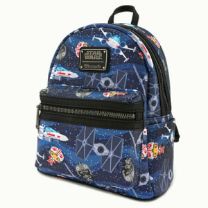 Loungefly Star Wars Chibi Ships Mini Backpack