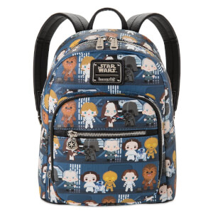 Loungefly Star Wars Chibi Mini Pu Backpack