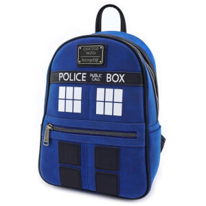 Doctor Who Loungefly Tardis Mini Mochila