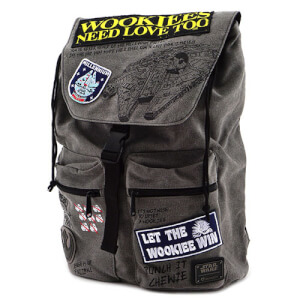 Loungefly Star Wars Rebel Wookie Patch Backpack
