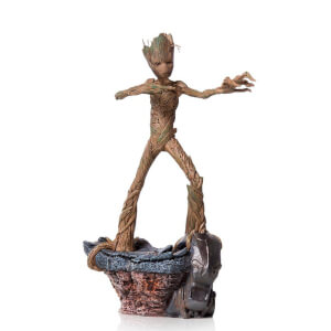 Iron Studios Avengers: Endgame BDS Art Scale Statue 1/10 Groot 24cm