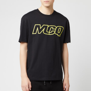 McQ Alexander McQueen Men's Dropped Shoulder McQ T-Shirt - Darkest Black
