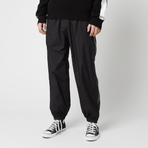 McQ Alexander McQueen Men's Zippy Gathered Track Pants - Darkest Black