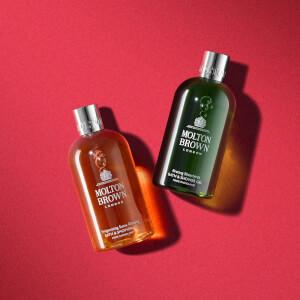 Molton Brown Invigorating Suma Ginseng & Bracing Silverbirch Bath and Shower Gel Duo 2 x 300ml: Image 3
