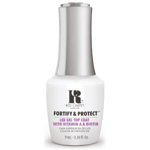 Red Carpet Manicure Fortify & Protect Top Coat LED Gel Polish 9ml