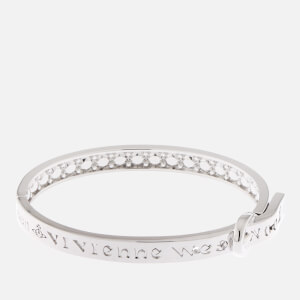 Vivienne Westwood Women's Bobby Bangle - Rhodium